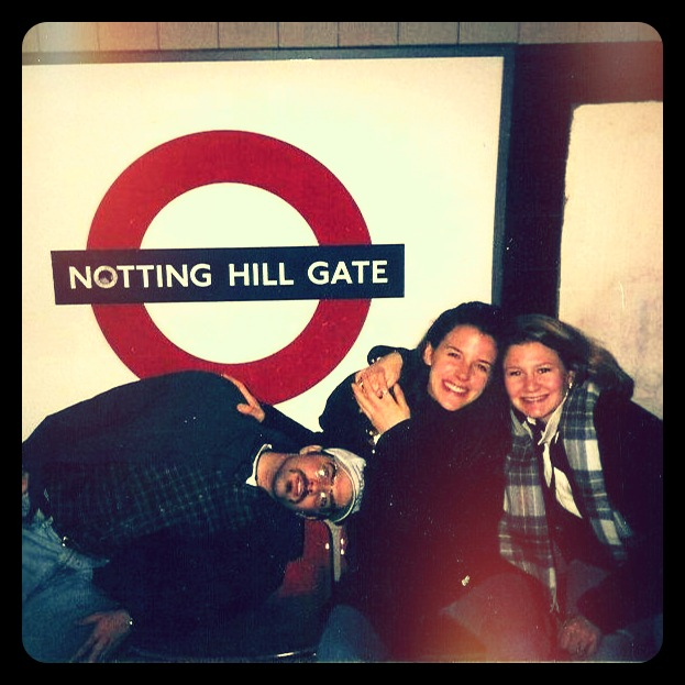 Notting Hill Gate Tube Stop