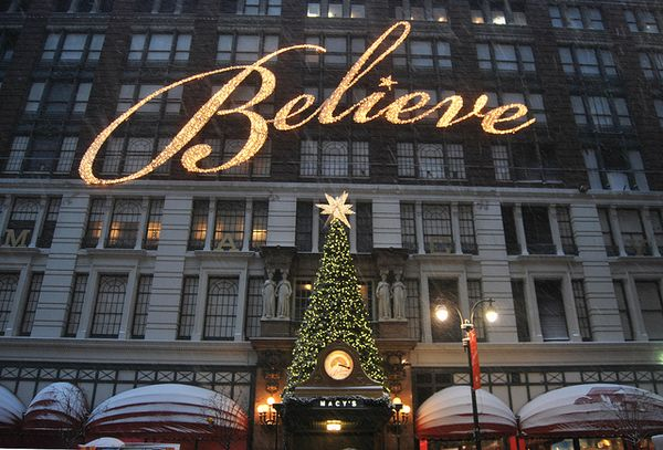 Macys new york christmas