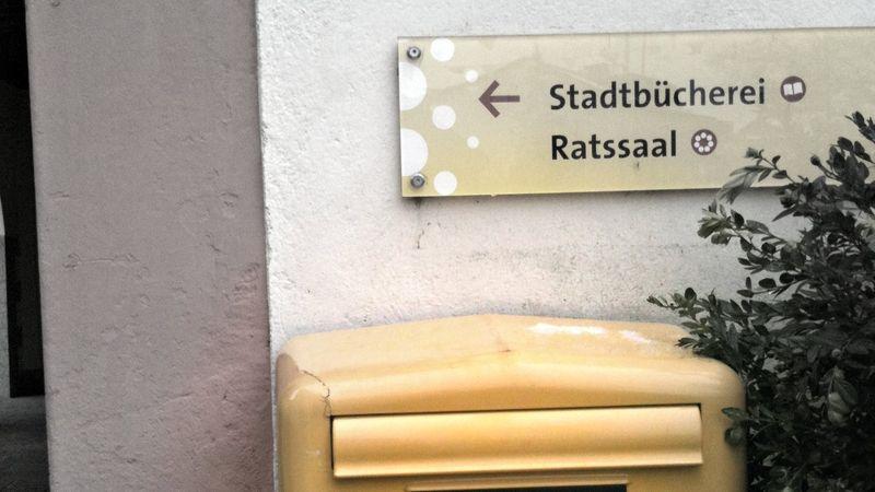 German postbox
