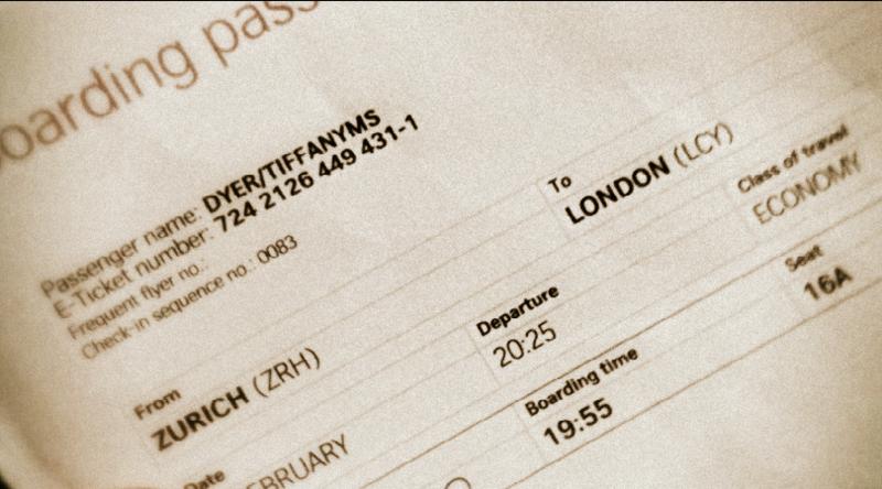 London Zurich pass