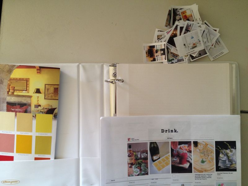 Make a Pinterest Vision Book