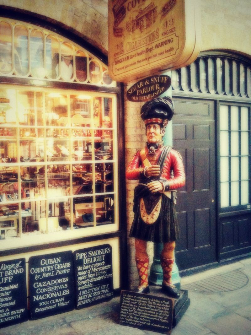 Covent gardens cigar store